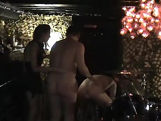 Femdom two slave part 1