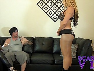 BALLBUSTING THE SUPER STAR..