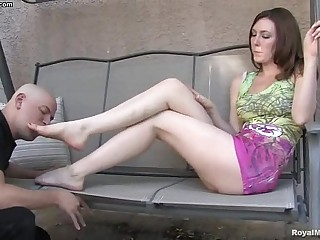Foot fetish - Mistress Megan..